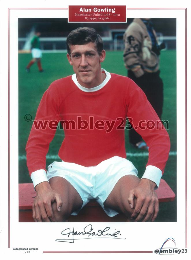 Alan Gowling Manchester United