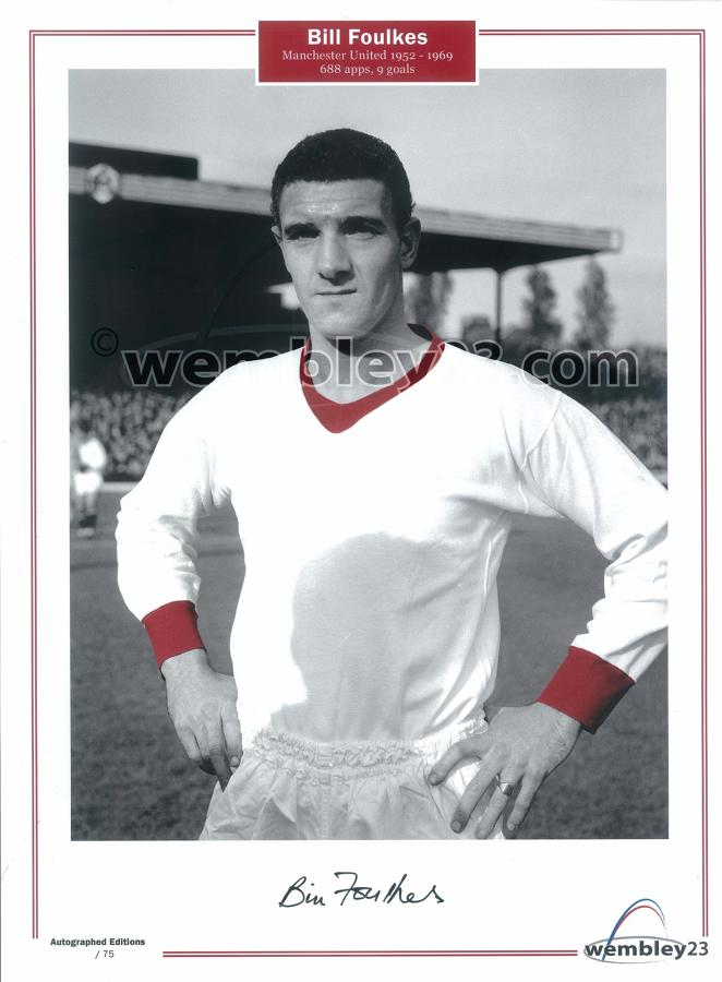 Bill Foulkes Manchester United