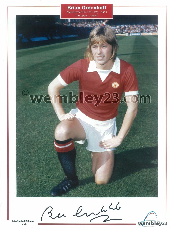 Brian Greenhoff Manchester United