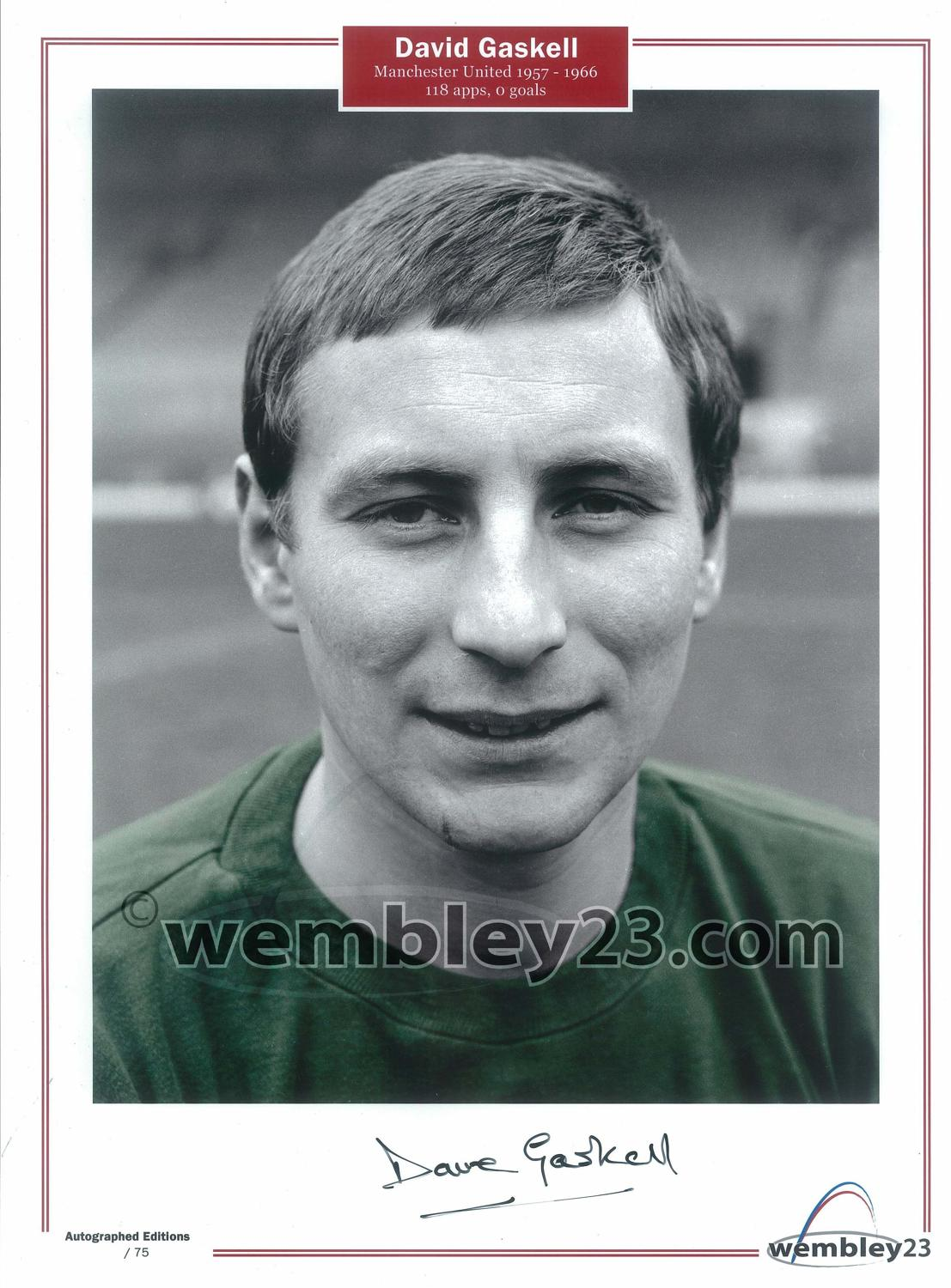 Dave Gaskell Manchester United
