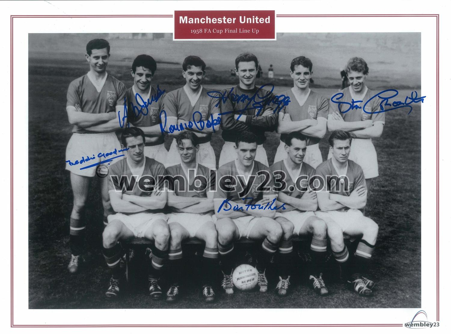 1958 Manchester United  cup final