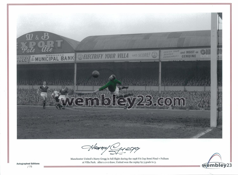 Harry Gregg Manchester United