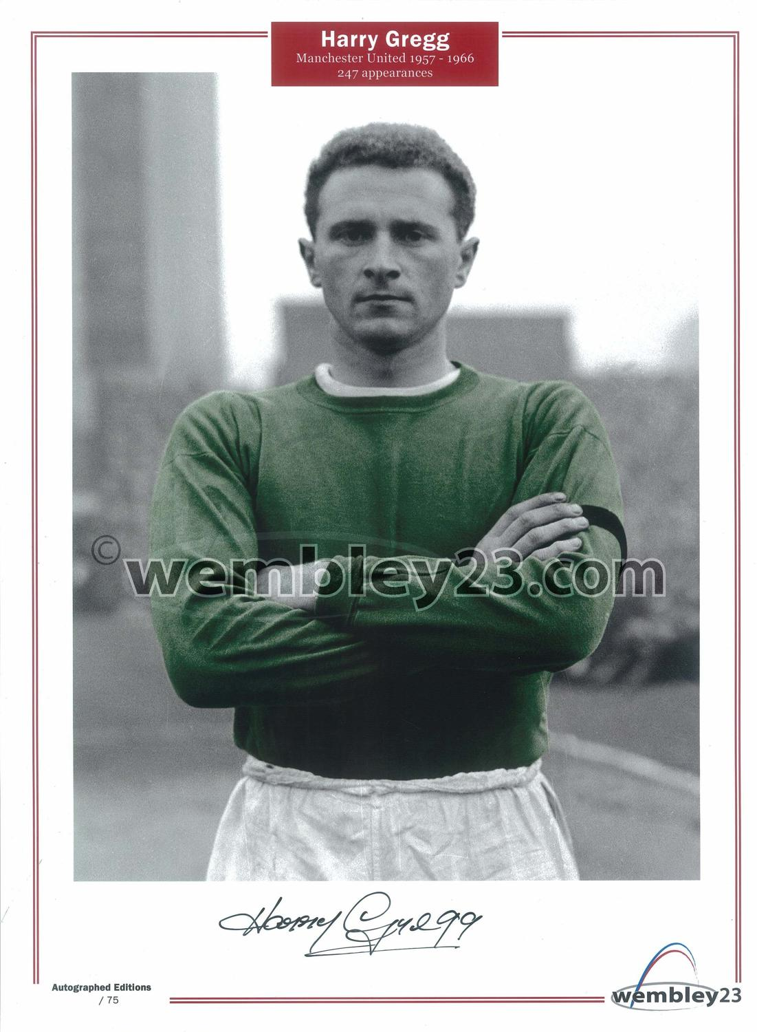 Harry Gregg Manchester United