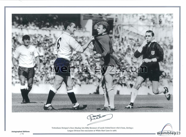 Dave Mackay Tottenham Hospur