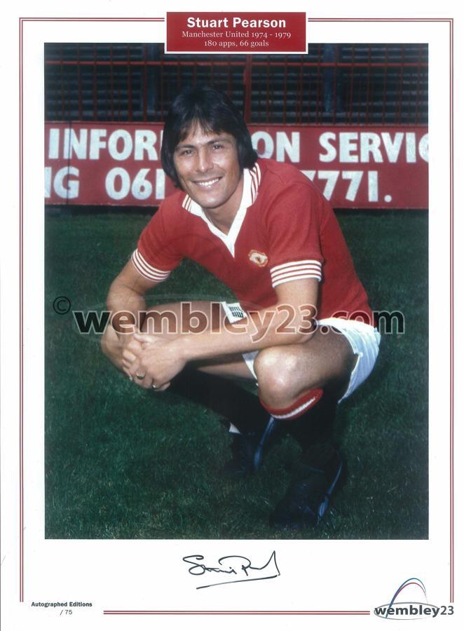 Stuart Pearson Manchester United