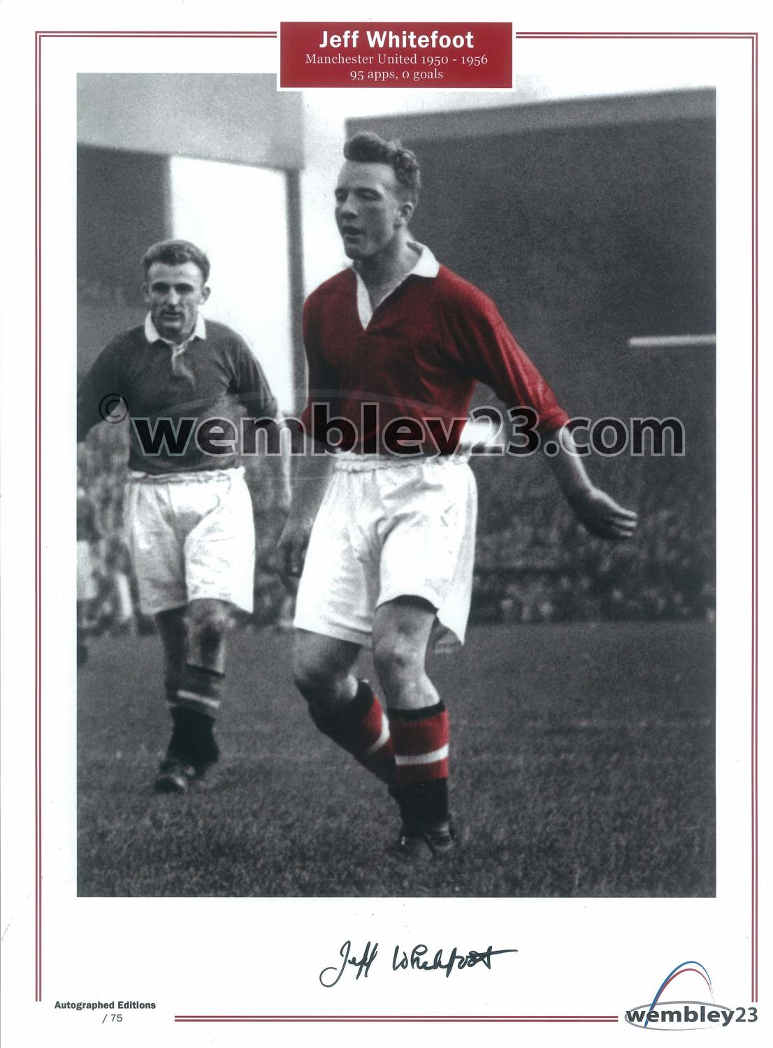Jeff Whitefoot Manchester United