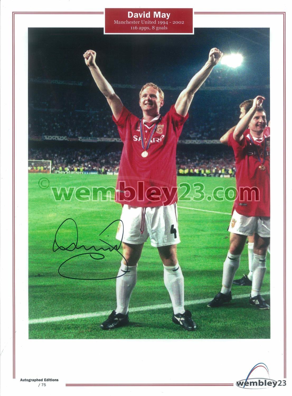 David May Manchester United