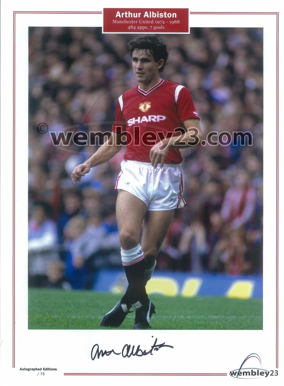 Arthur Albiston Manchester United