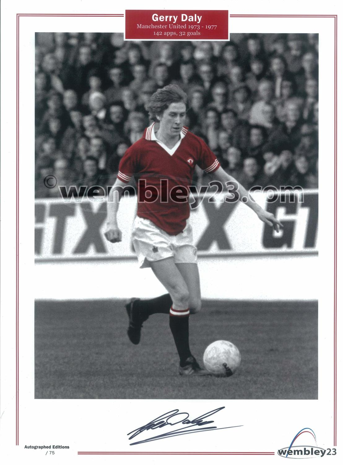 Gerry Dally Manchester United