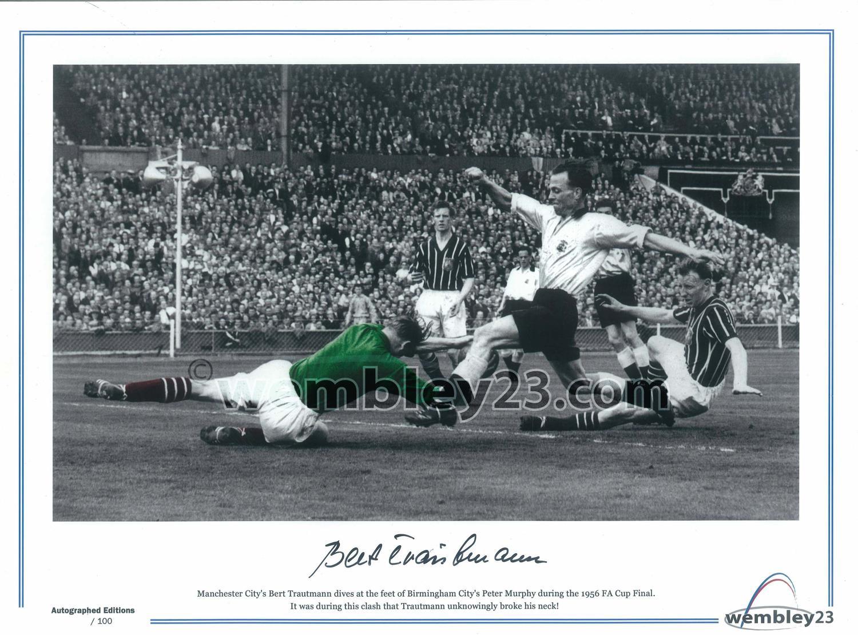 Bert Trautman Manchester City