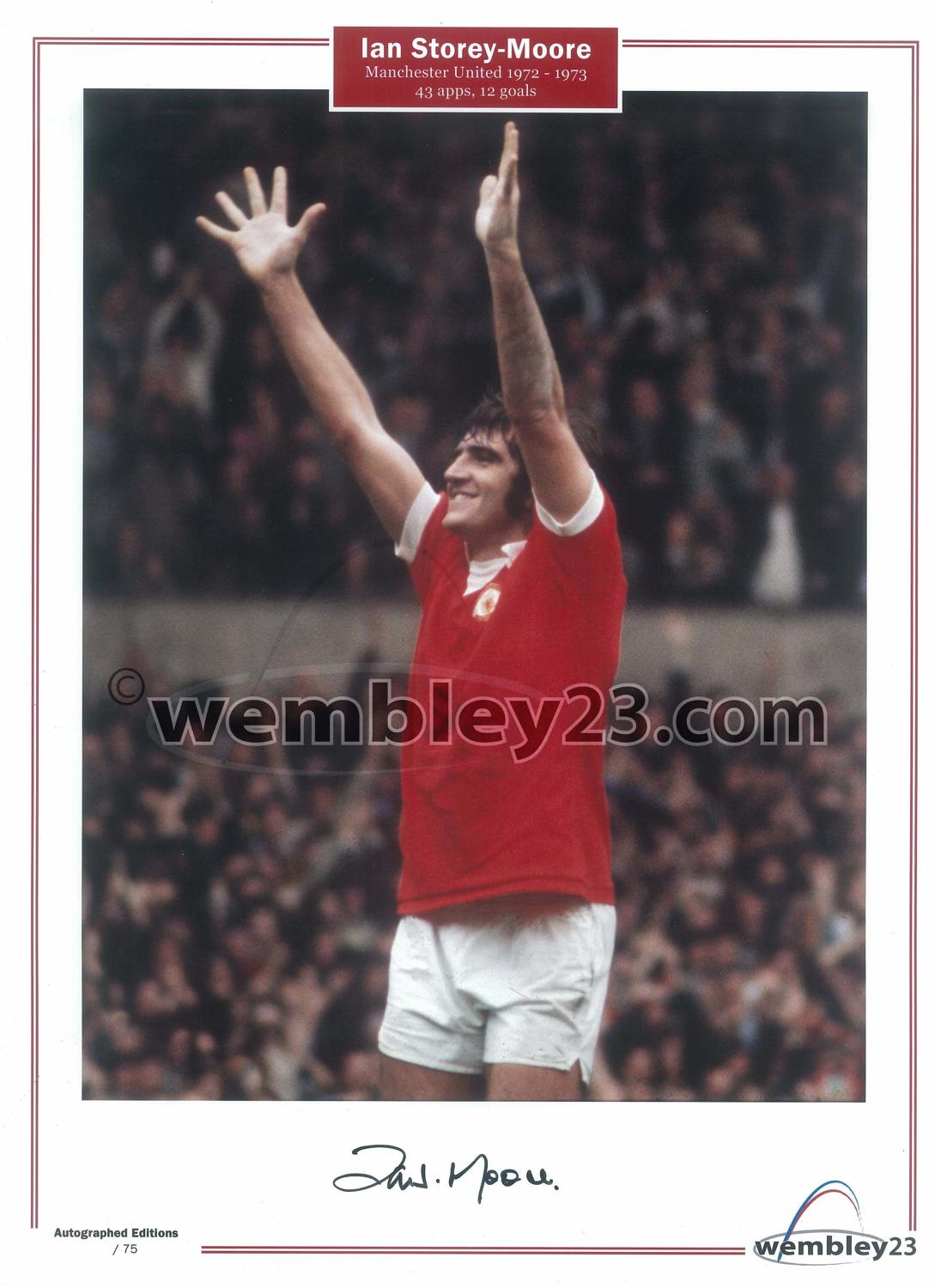 Ian Story Moore Manchester United
