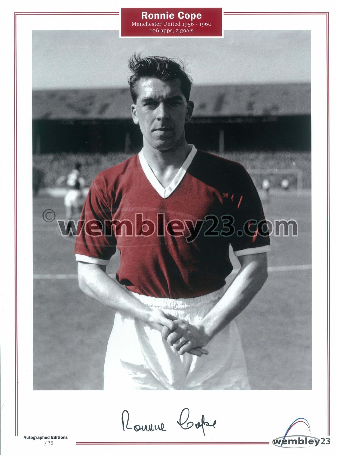 Ron Cope,Manchester United