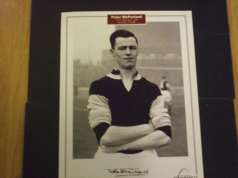 Peter McParland Aston Villa
