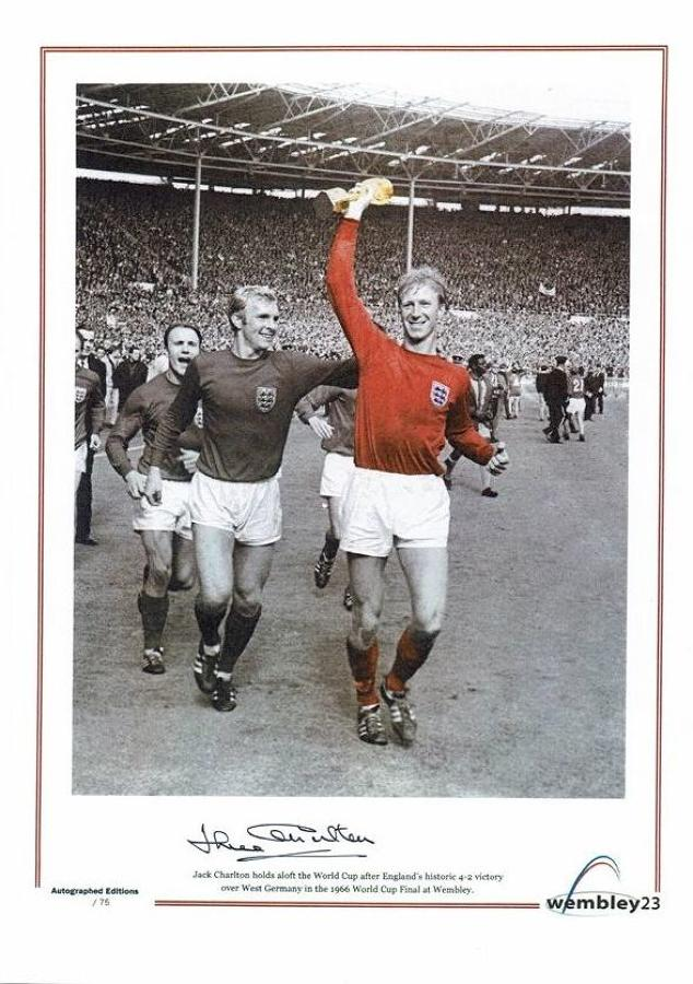 Jack Charlton,England 1966
