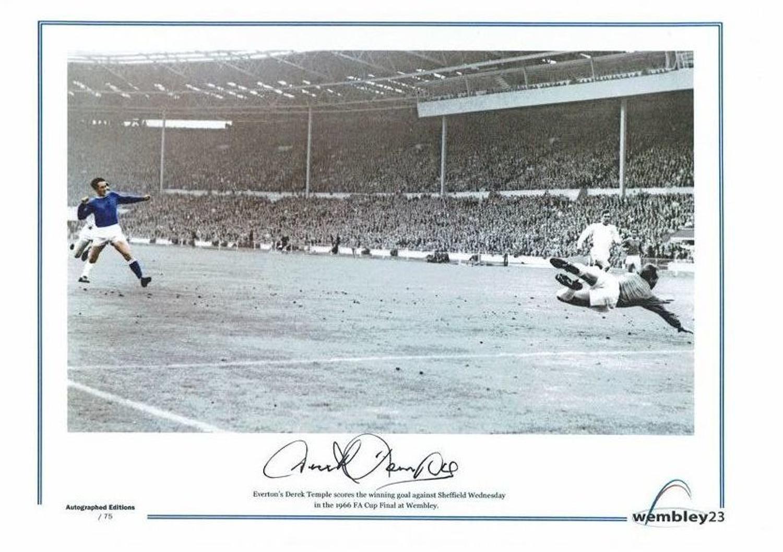 Derek Temple Everton 1966 FA Cup