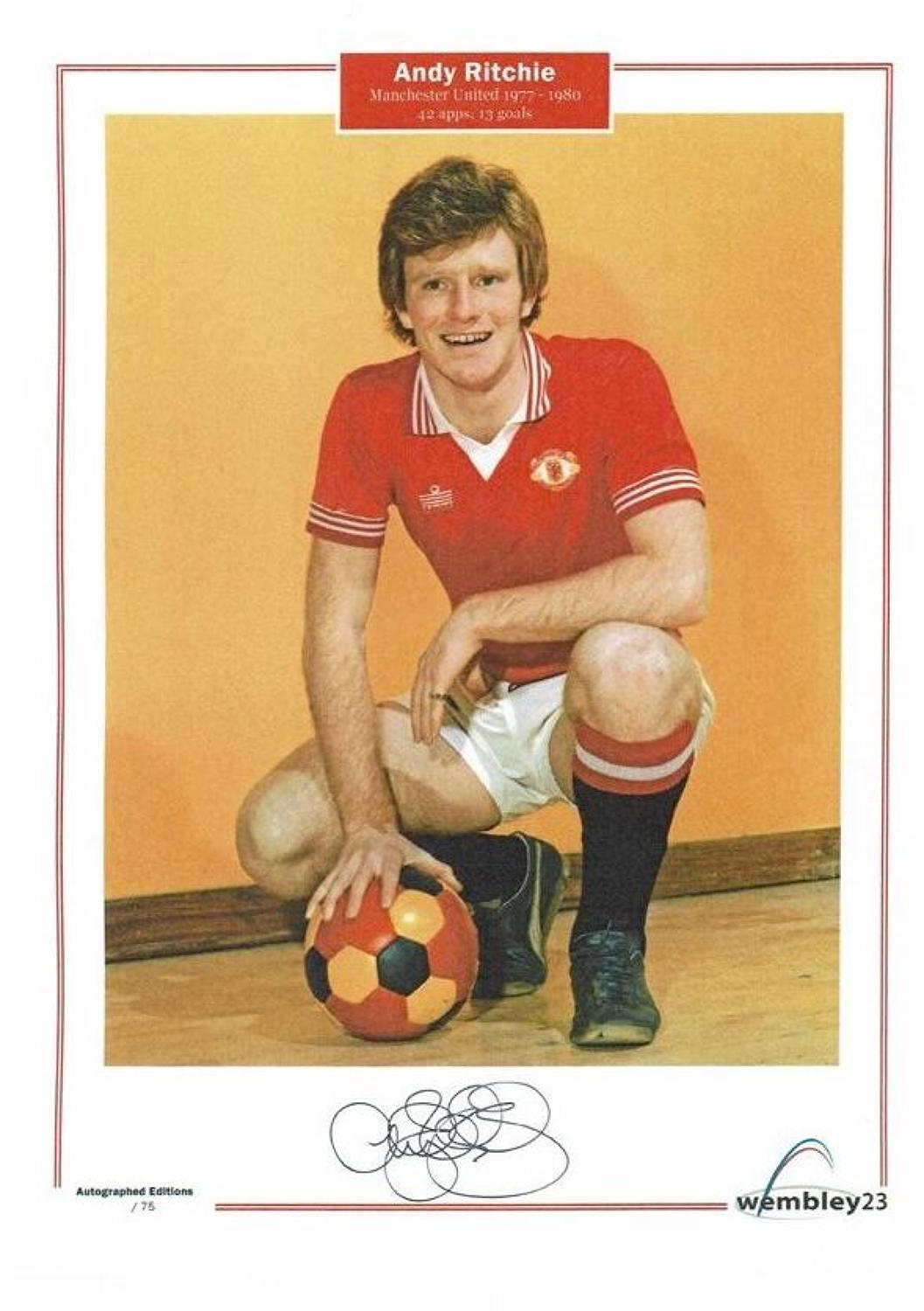 Andy Ritchie,Manchester United