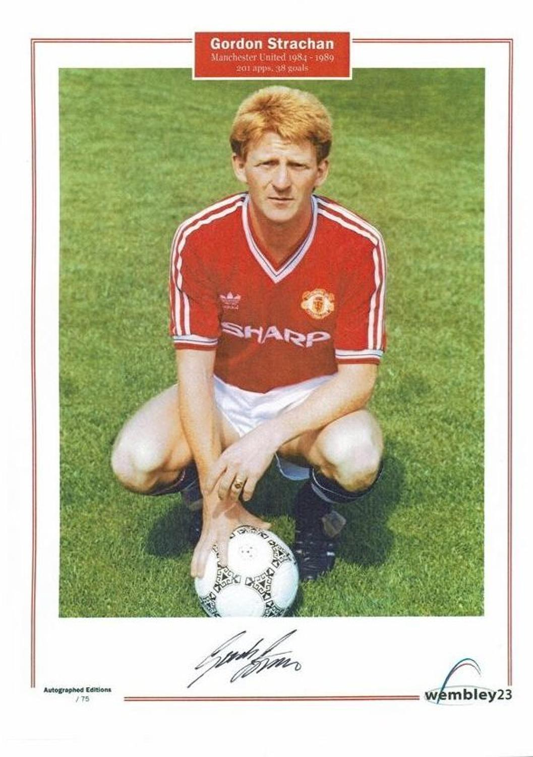 Gordon Strachan, Manchester United