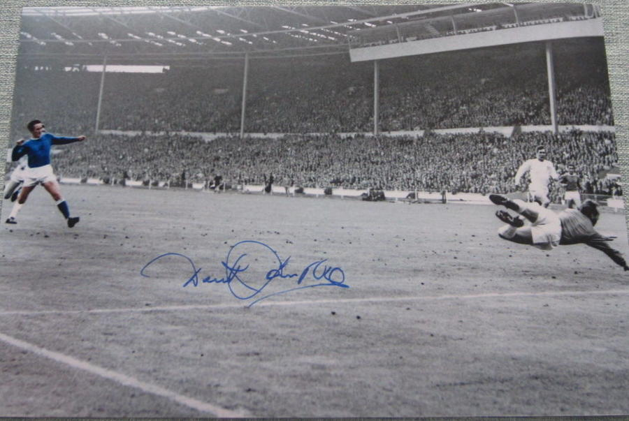 Derek Temple Everton 1966 Cup Final
