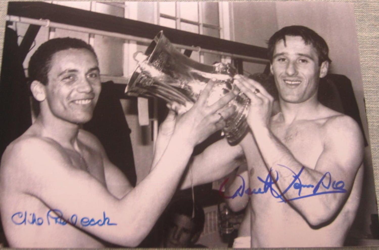 Derek Temple&Mike Trebilcock Everton FA Cup 1966