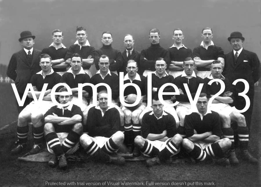 Albert Wilkes reprint Manchester United 1935-36