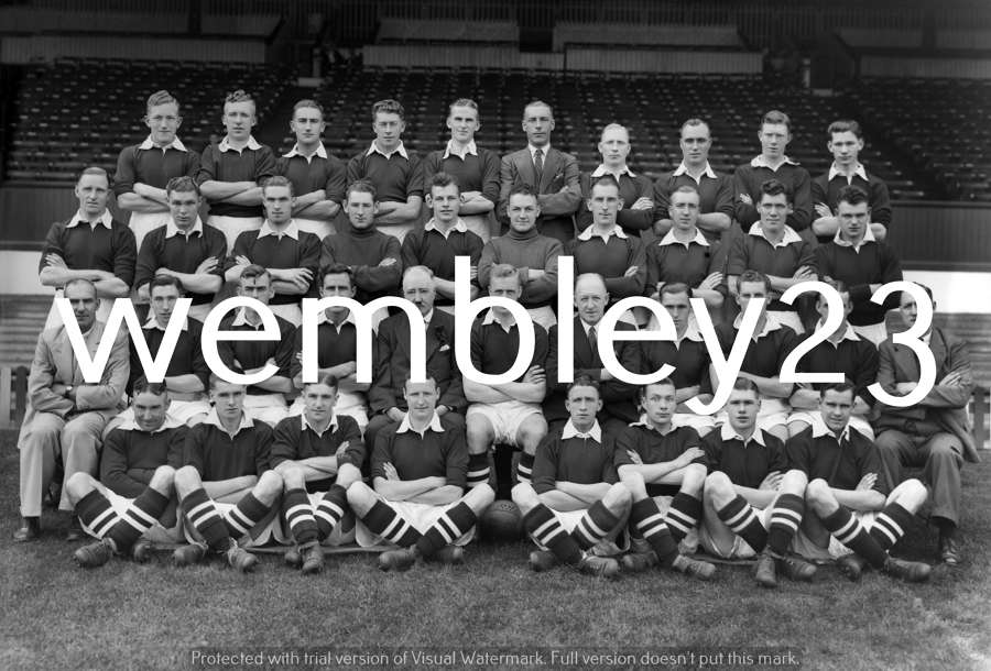 Albert Wilkes Manchester United 1937-38 season