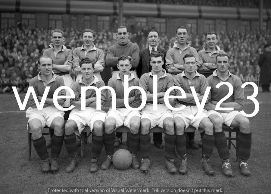 Albert Wilkes Manchester United 1946-47