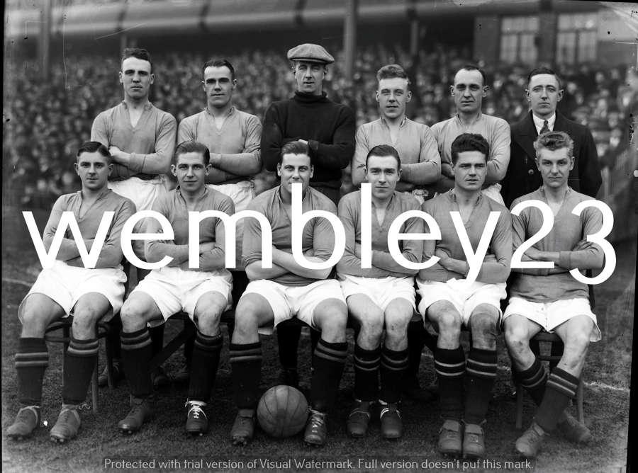 Albert Wilkes Manchester United 1930-31