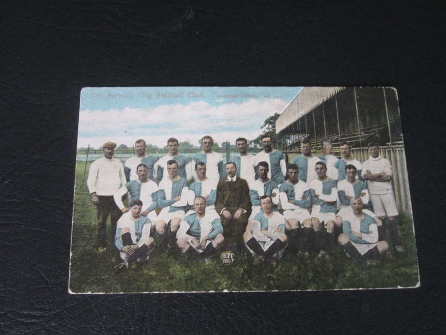 Norwich City 1906-07 Postcard