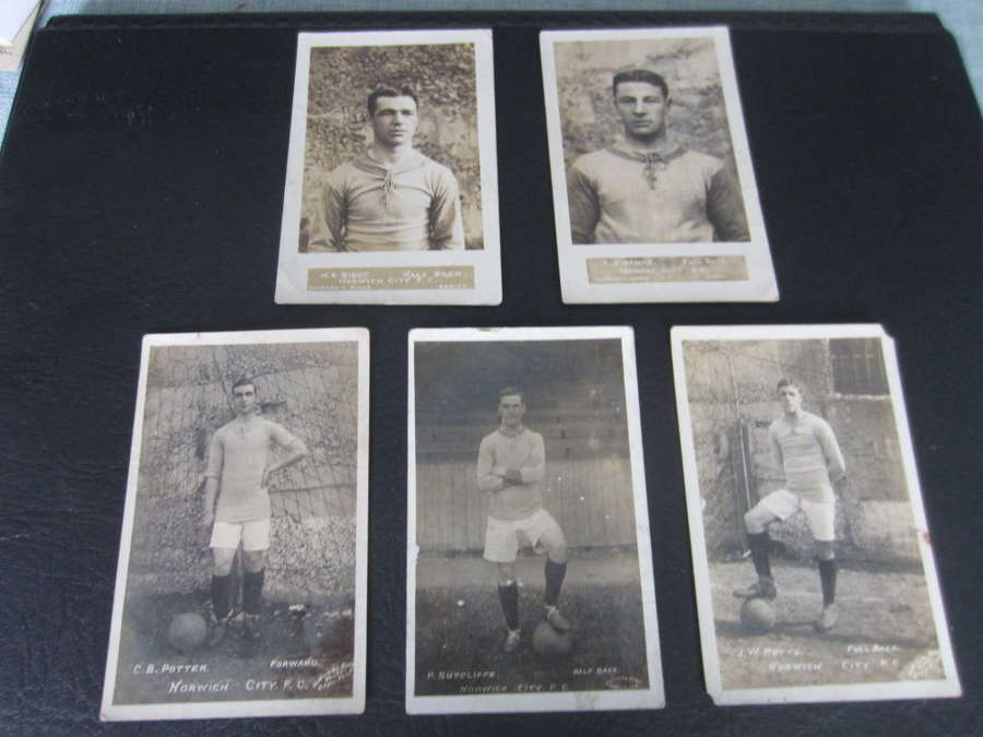 Norwich City Postcards 1910-1914